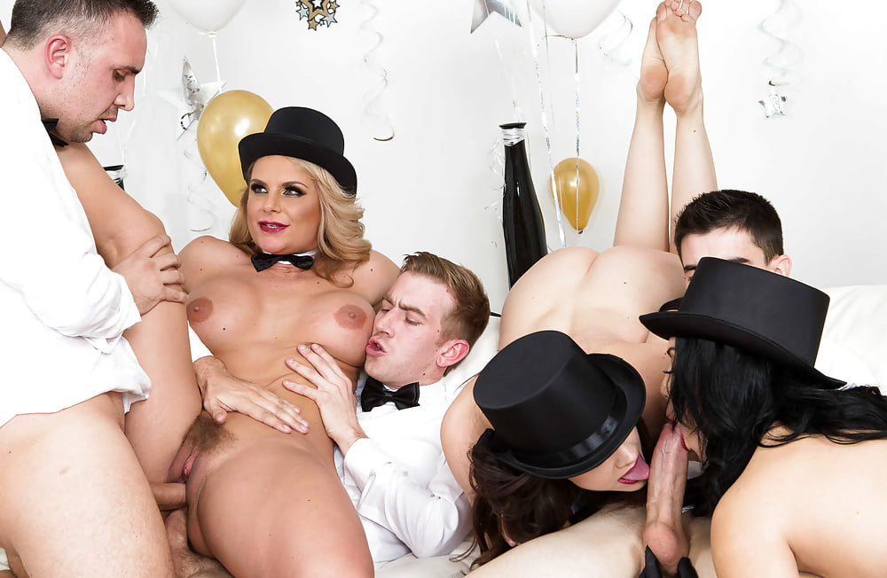 New years eve sex parties