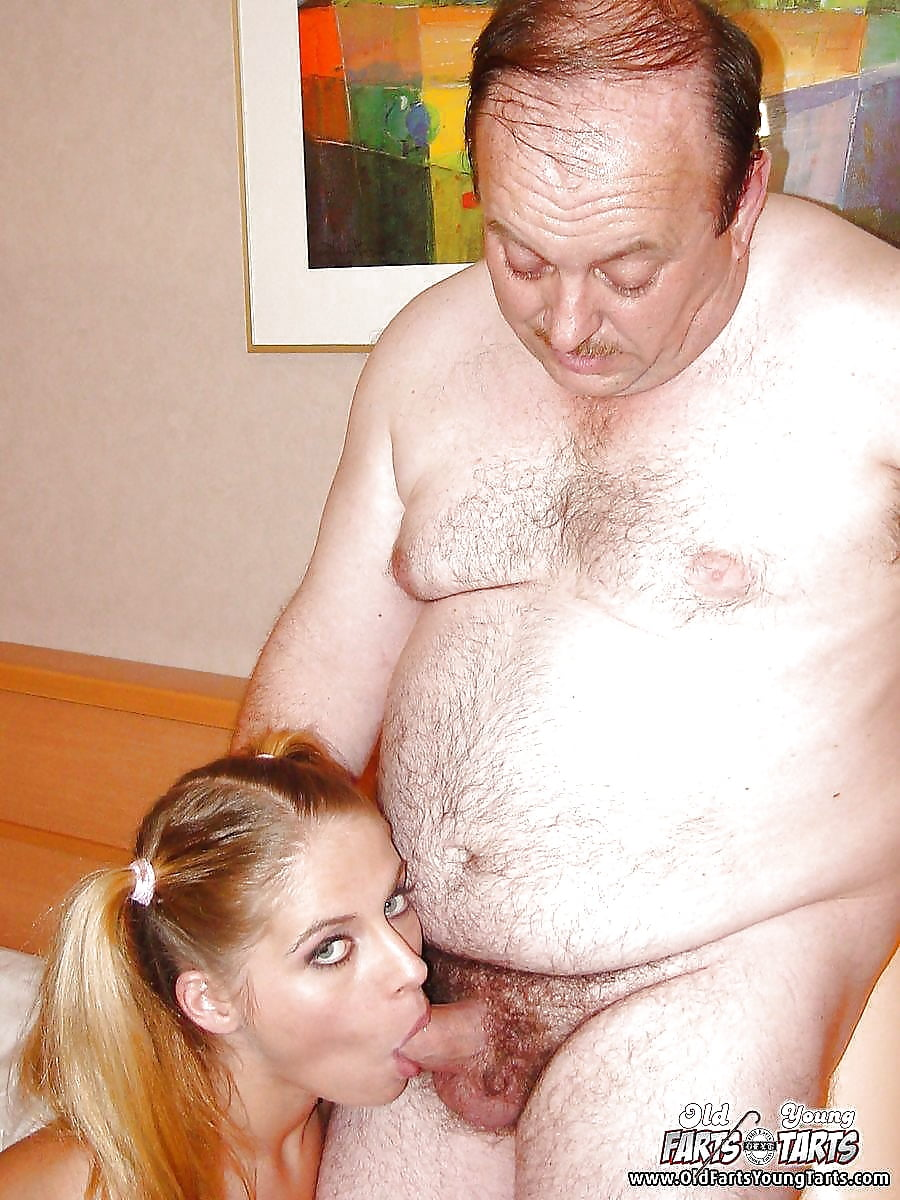 Old dirty men with young girls — 1