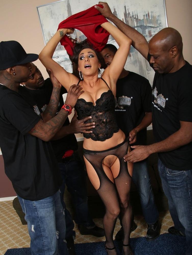 Latinas Getting GANG BANGED - 73 Pics
