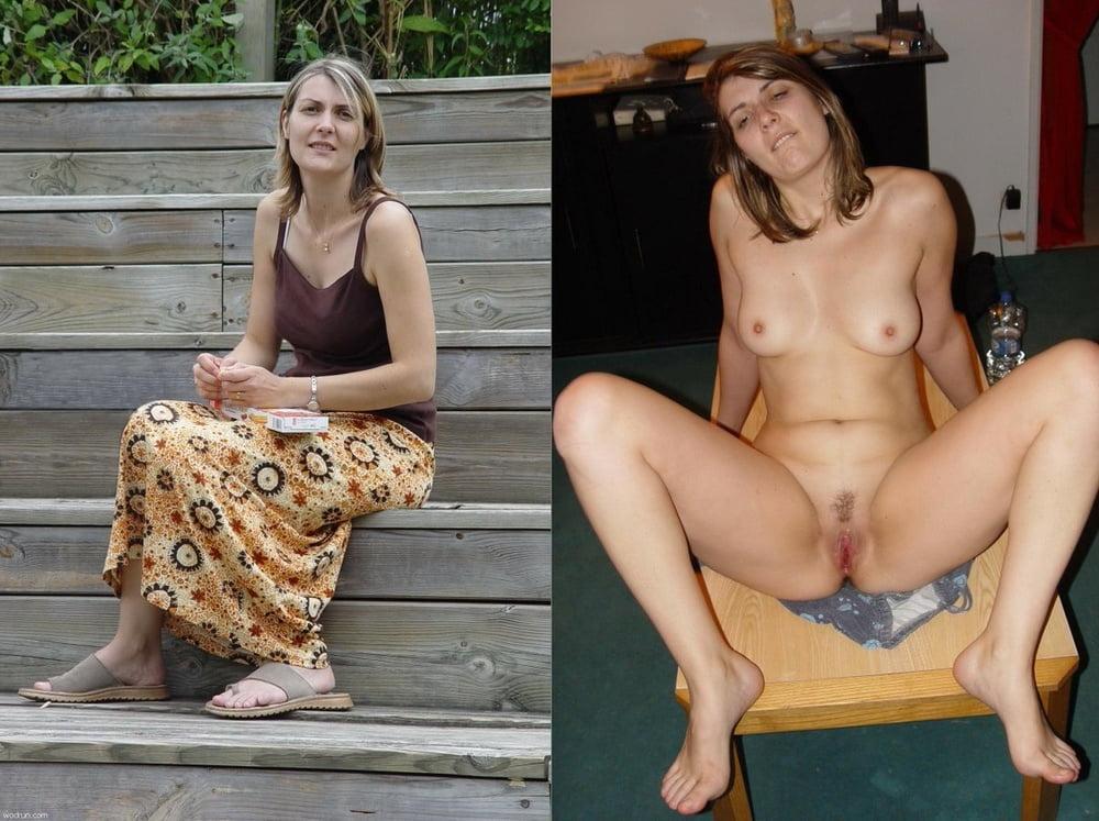 Upskirt no panties collection
