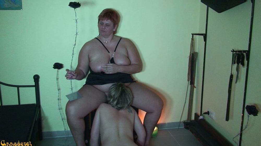 My SLAVE LICKING me - 15 Pics