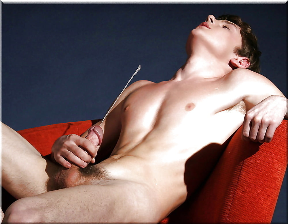 A solo male jerk off scene is quite erotic