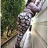 Thick Ass Small BBW in Sexy Leggings and Heels