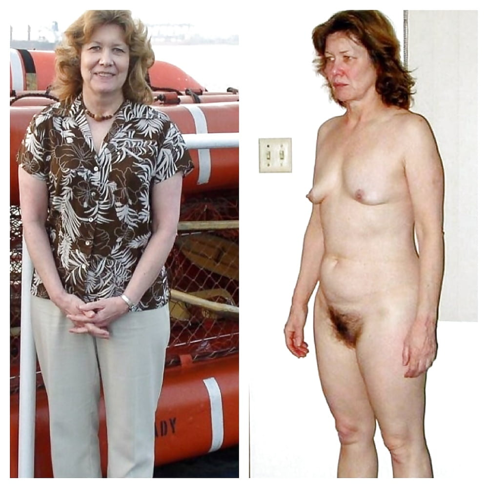 Older women caught naked-2852