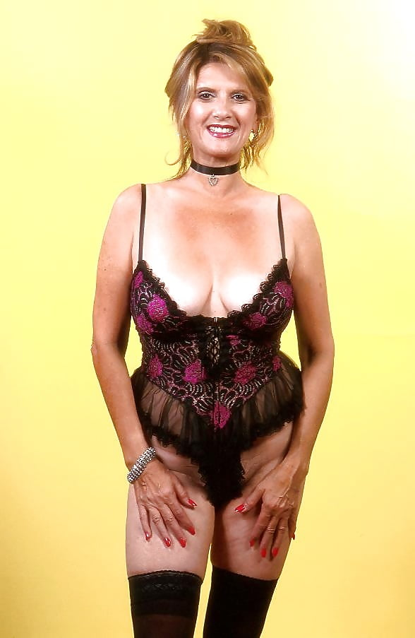 Hairy mature lingerie-2763