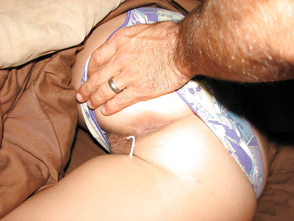 My aunt sleeping in her panties