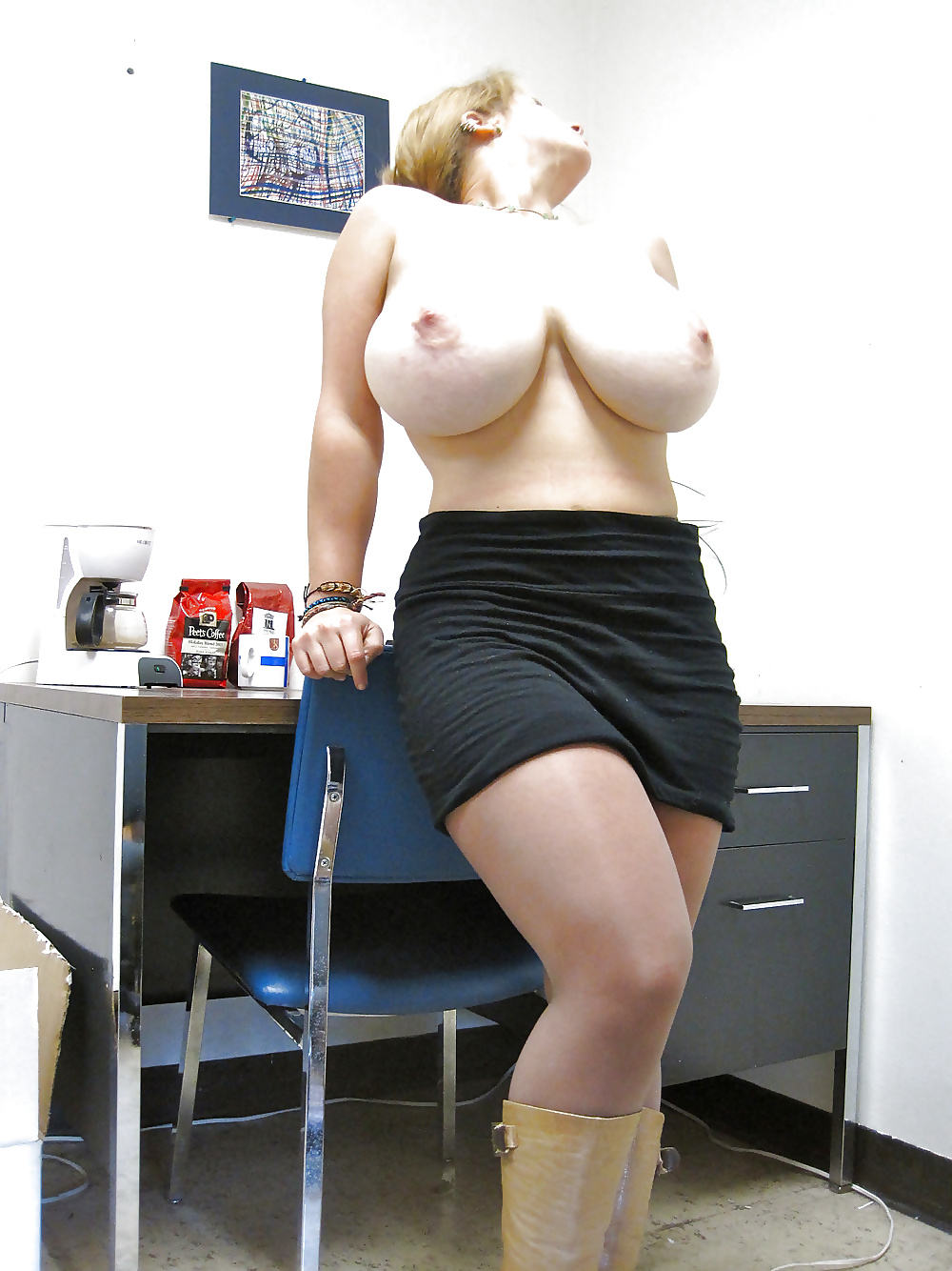 Huge Saggy Tits Housewife