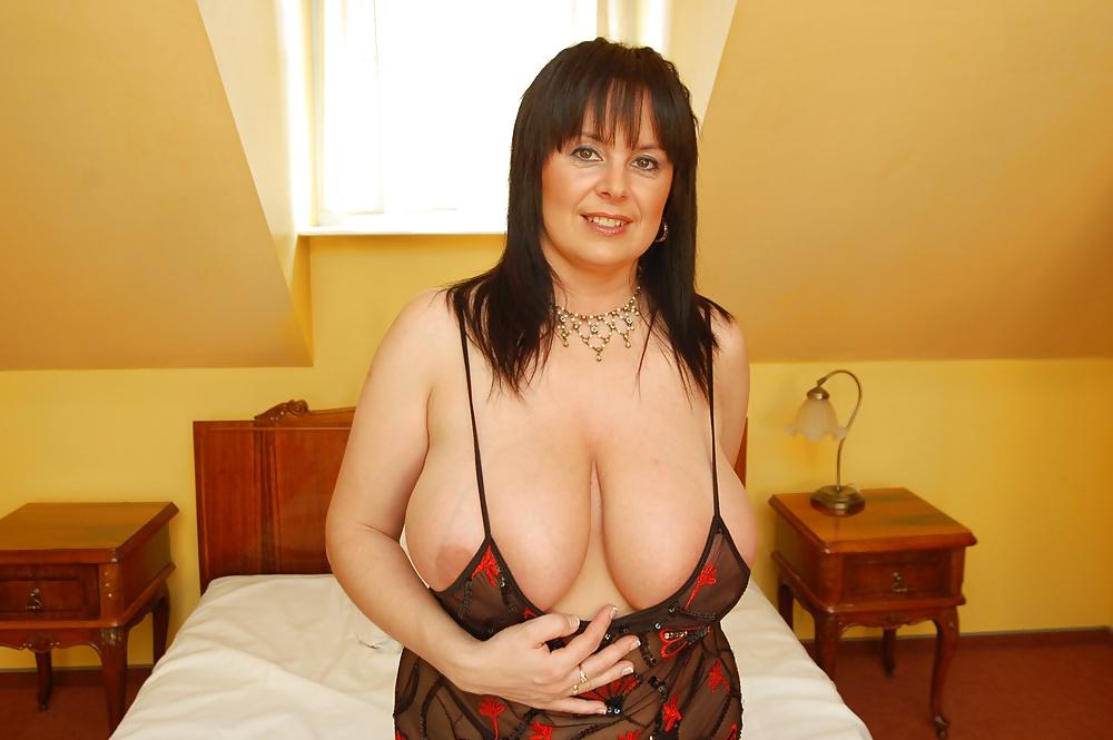 Polish big tits sensation milena posing by the mirror
