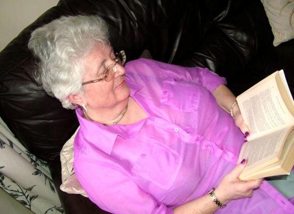 White hair granny porn