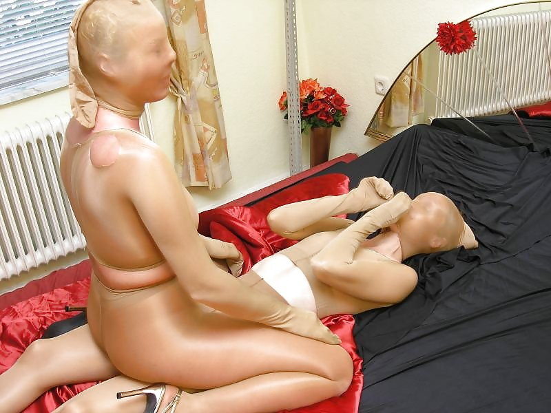 Sperm between nylon masks - 2 part 8
