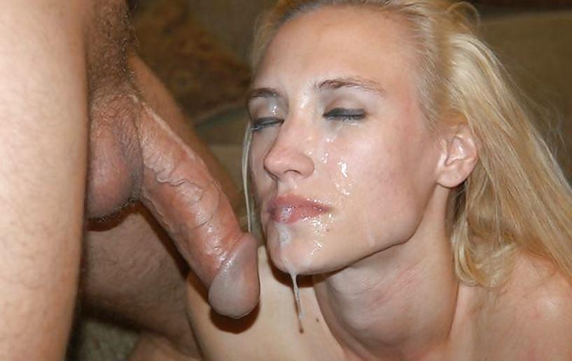 Голые бляди в сперме с членом во рту много фото #6