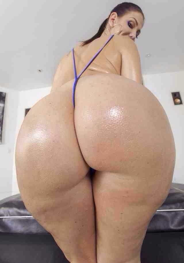 One of the biggest asses ever in porn