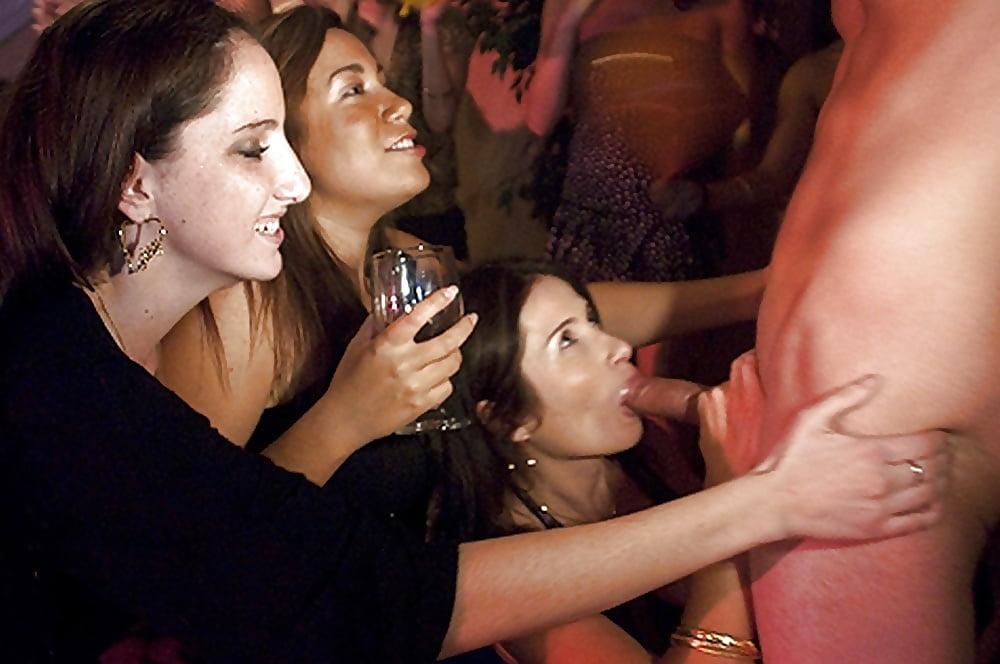 Slutty bridemaids go wild