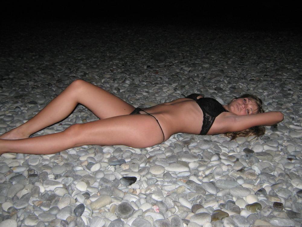 Лена секс на отдыхе, секс с блондинкой в желтом купальнике