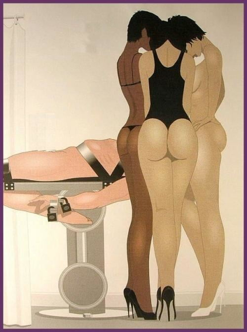 Rodzo femdom art and kinky mature joy