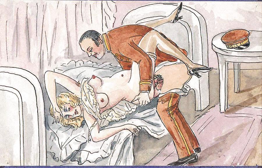 Erotic Sex Illustrated Threesome Story