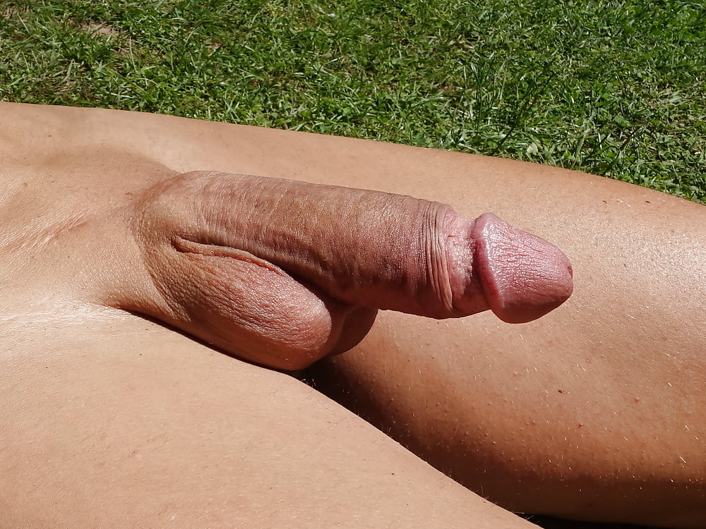 Apologise, but, flaccid shaved cock and balls consider