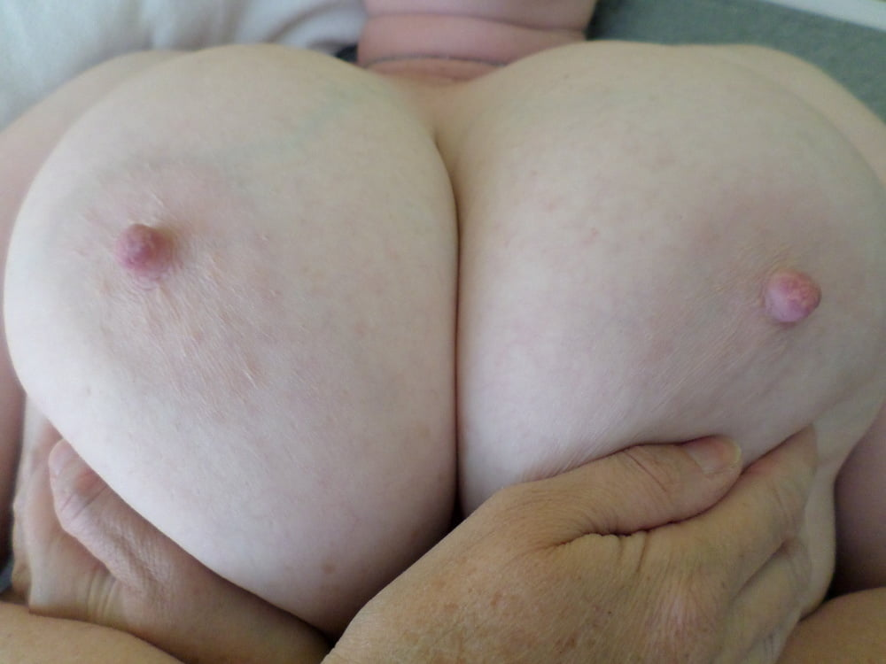 Funbags saggy huge sexy booby knockers large nipples