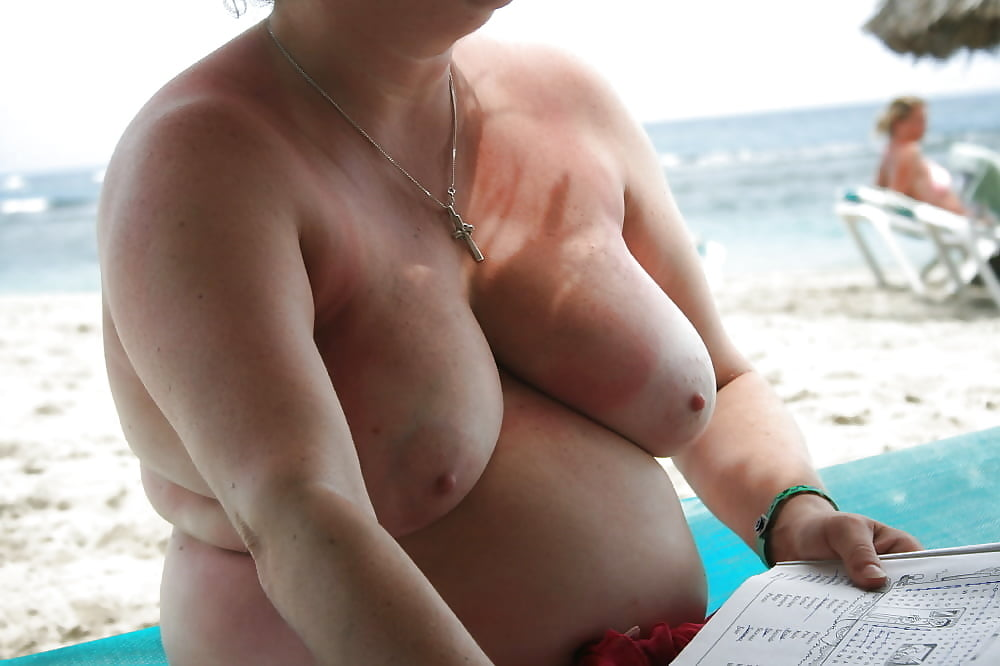 Blonde bbw on the beach, naked thick and sexy women