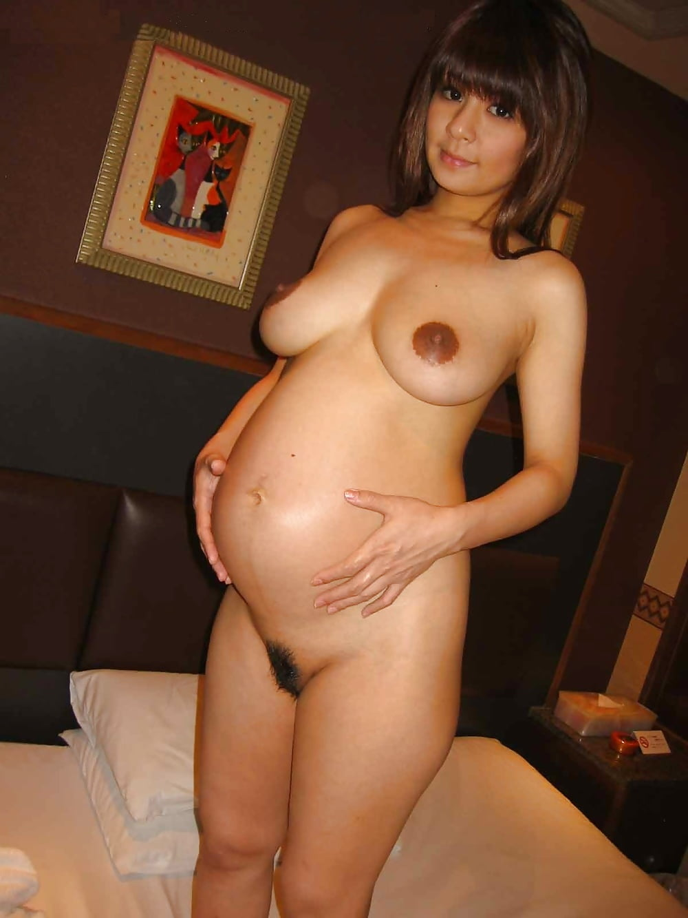 Naked japanese pregnant women — photo 6