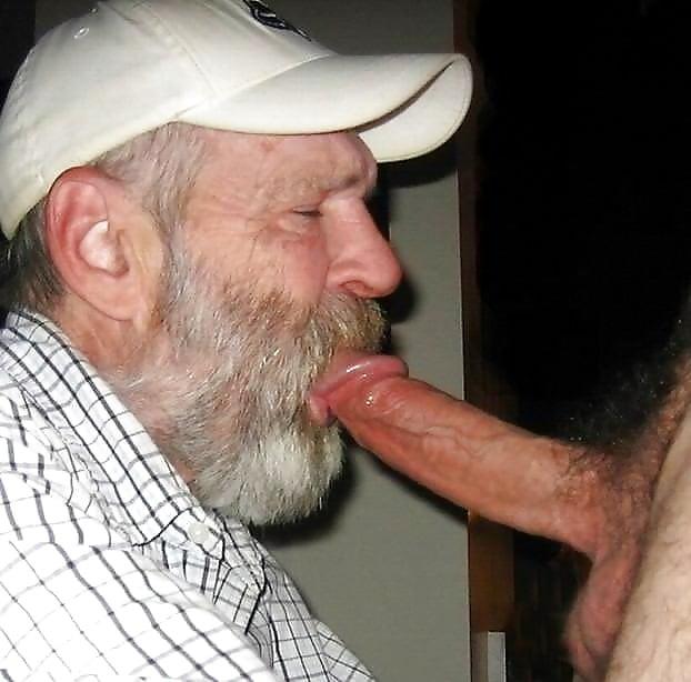 Grandma Grandpa Sucking Cock