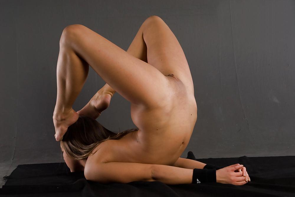 Flexible gymnast girl vilma