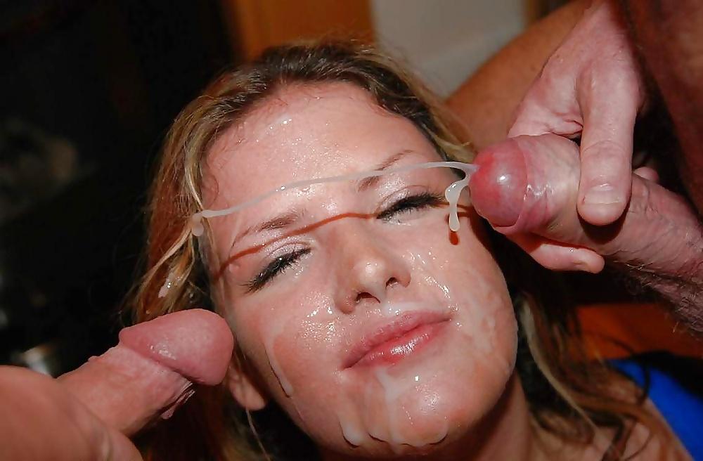 Жену обливают спермой фото — photo 10