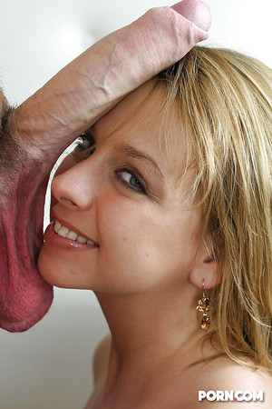 Big dick on face