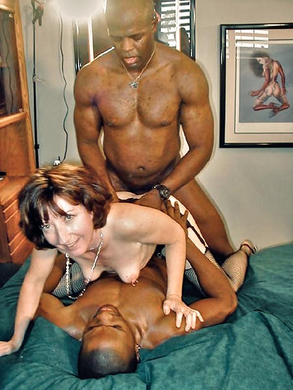 Mature orgasm interracial porn