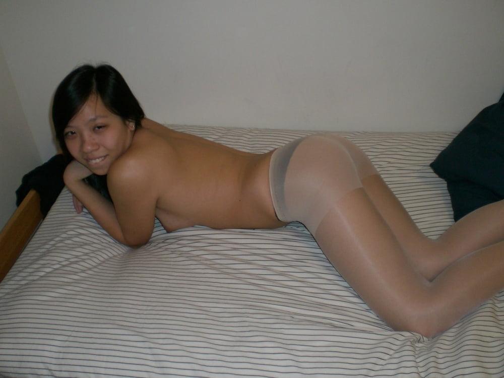 pantyhose gallery Asian free