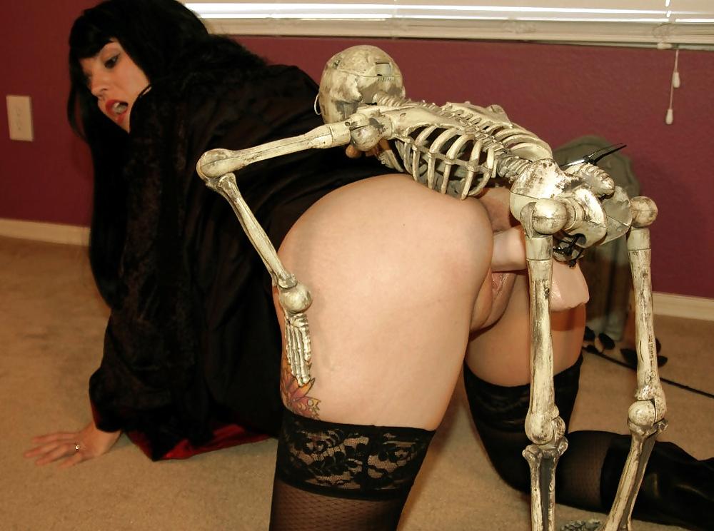 Скелетон женщины порно #10