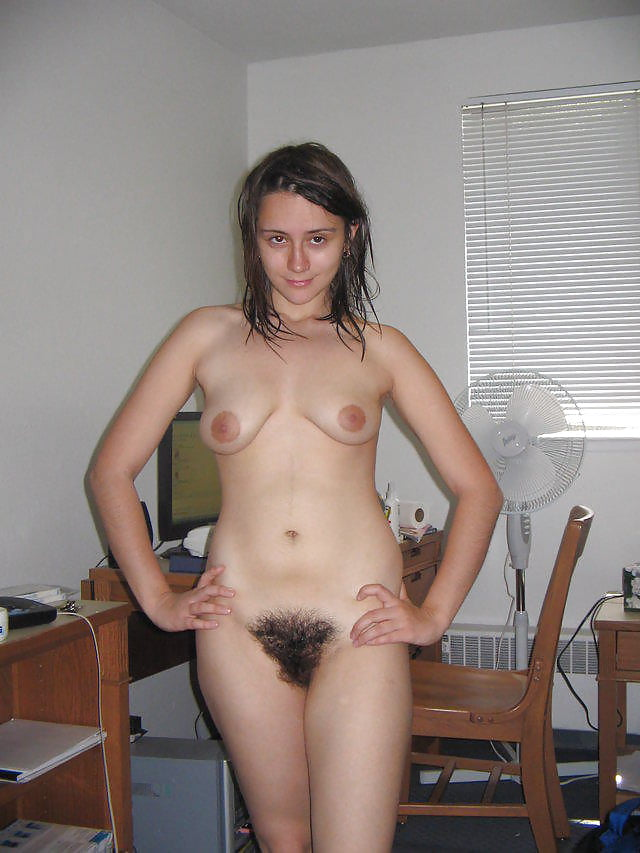 Hairy amateur girlfriend posing couples