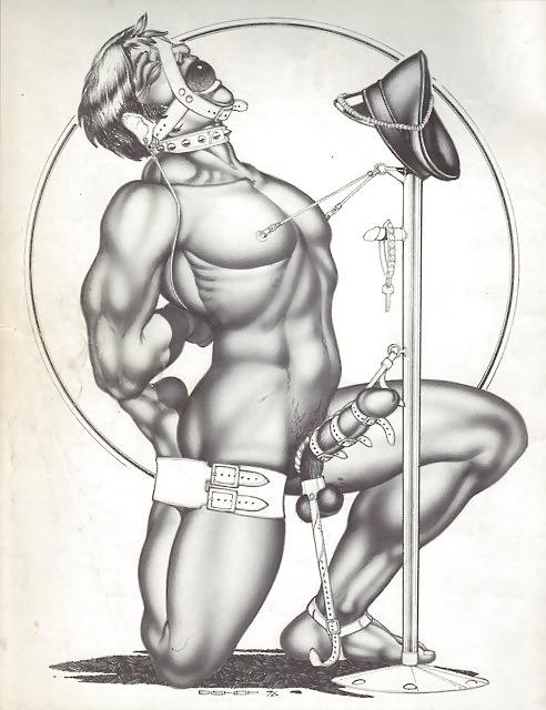 Gay Cartoon Porn Bondage Drawings