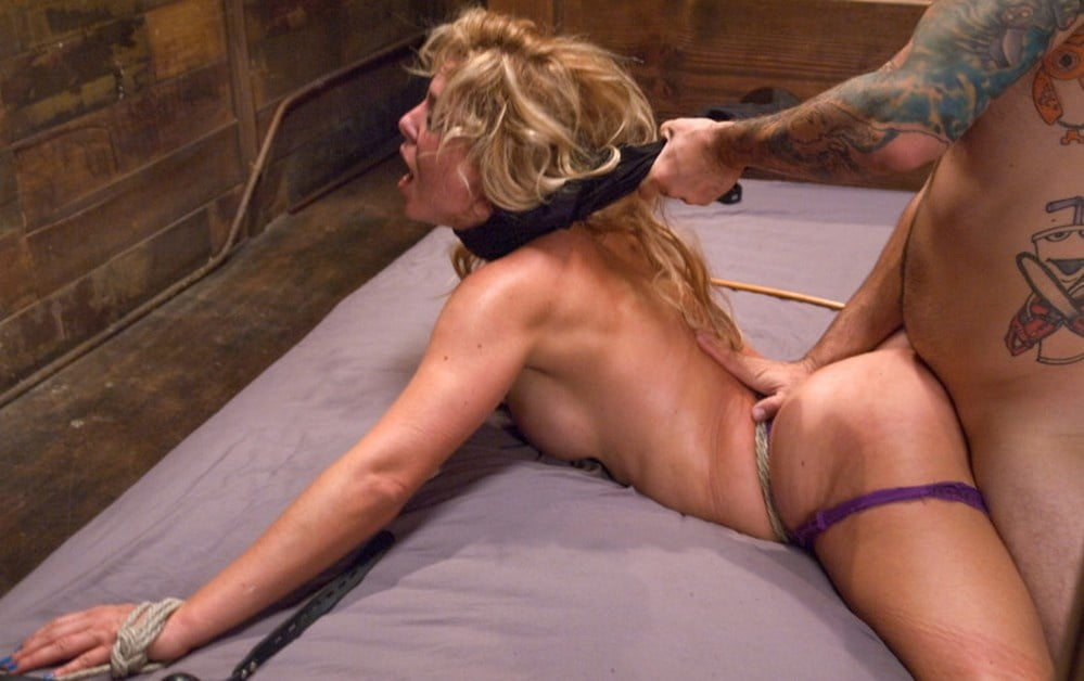 Tied Up Guy Gets Fucked