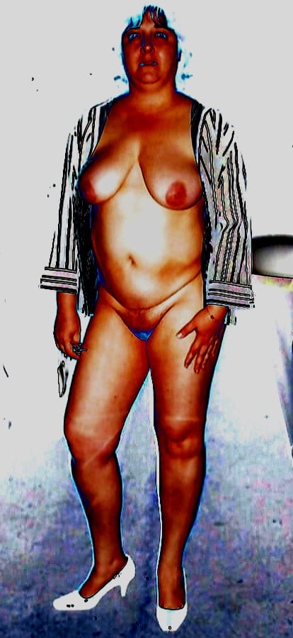 Naked fat white ladies-7652