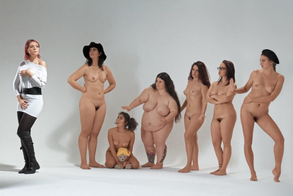 Powerful photos of faceless female nudes explore race, gender, and beauty