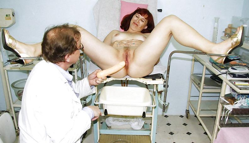 Извращения над киской у врача это