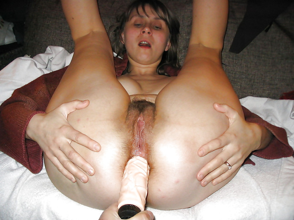 Hairy blonde amber at aunt judys