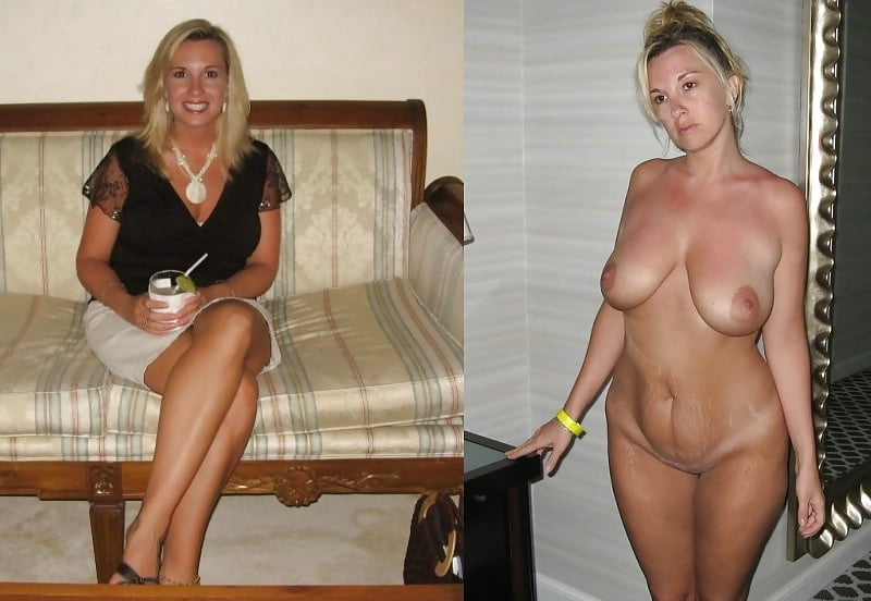 Sexy Moms Getting Dressed And Undressed