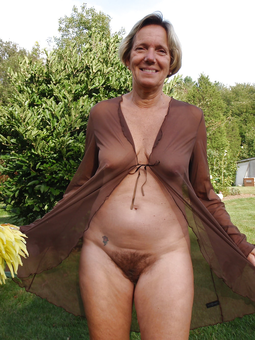 Blonde pubic nude