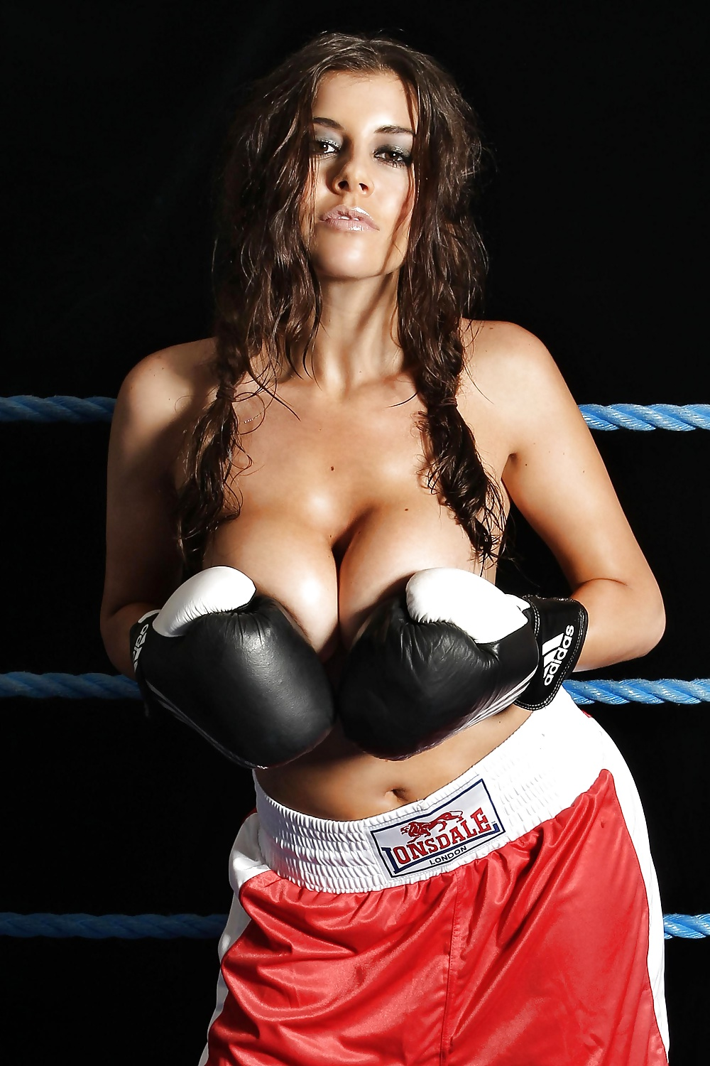 Woman naked ring boxing nude fit sexy adult gym hot boxer photos