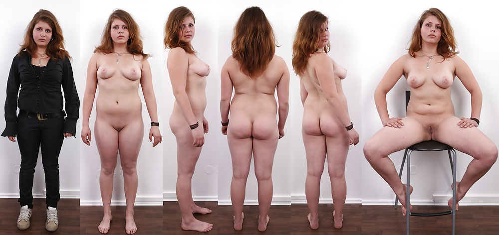 Chubby nude female group — pic 14