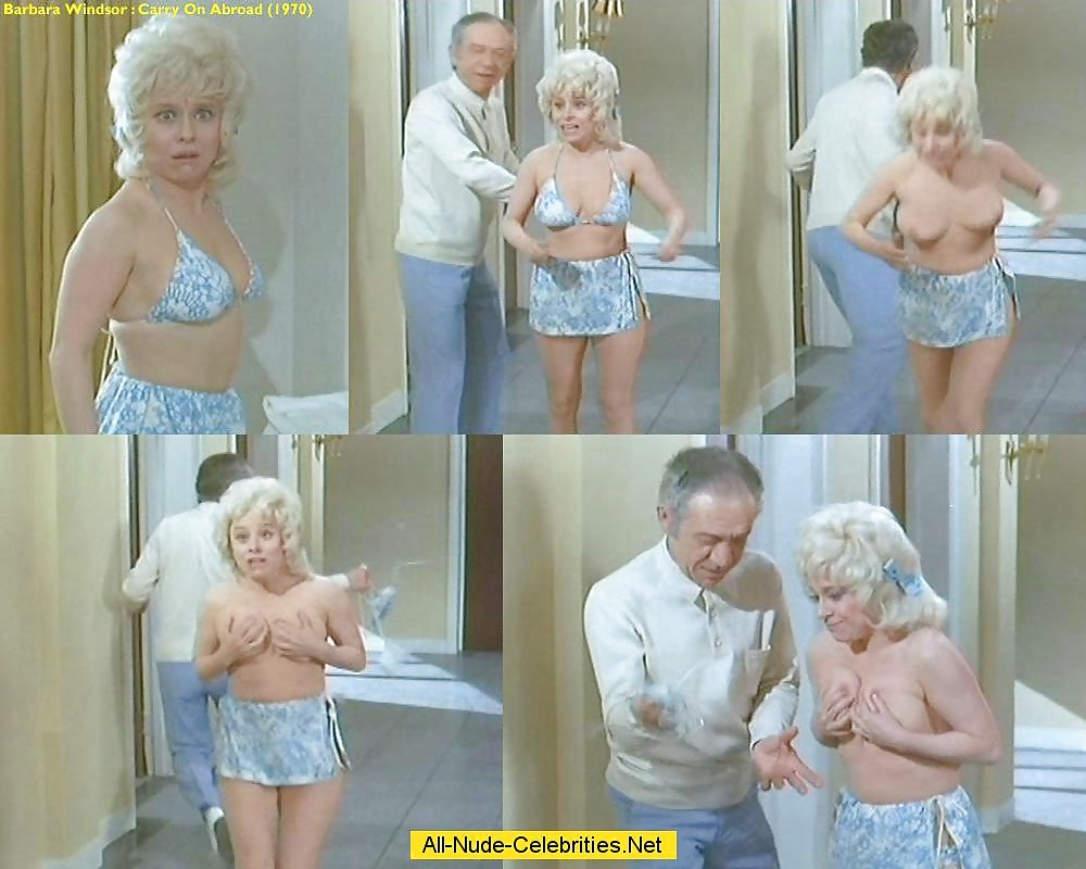 Dame Barbara Windsor To Star In New Carry On Images