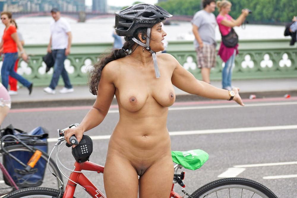 World naked bike ride london part