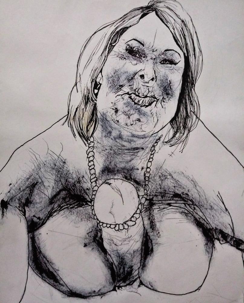 Granny Drawing Porn Gallery Pics