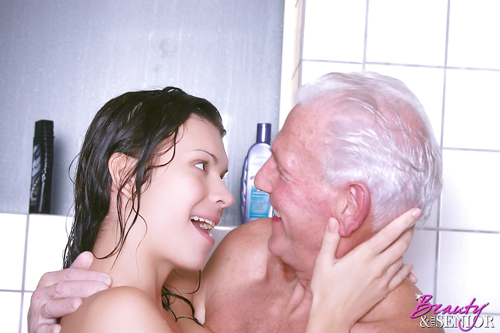 Tight pussy old man sex in shower with girl sites