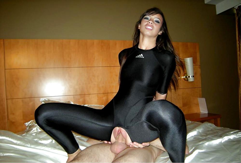 Shiny pantyhose porn