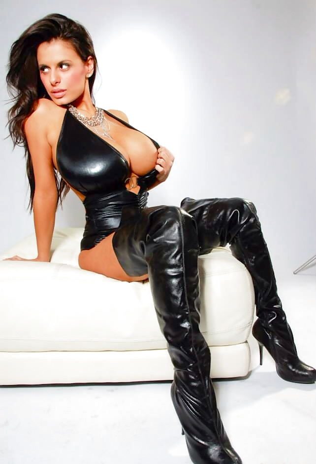 Girls naked leather — 15