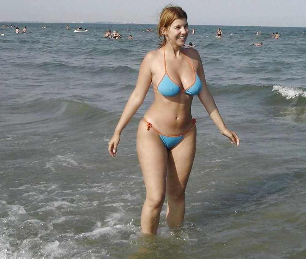 Really. happens. bikini milf