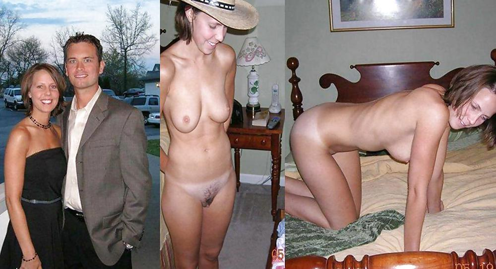 Movie of guy undressing wife